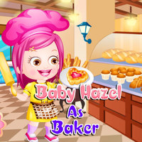 Baby Hazel As Baker