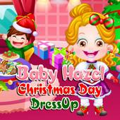 Baby Hazel Christmas Day Dressup