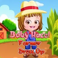 Baby Hazel Farmer Dress Up