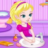 Potty Train Baby Elsa