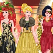 Princesses Christmas Fashion Show