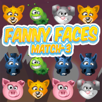 Funny Faces Match - 3