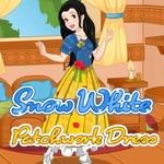 Snow White Patchwork Decro