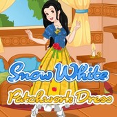 Snow White Patchwork Decro