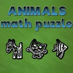 Animals Math Puzzle