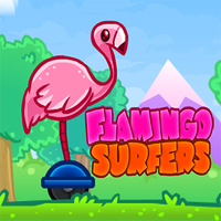 Flamingo Surfers