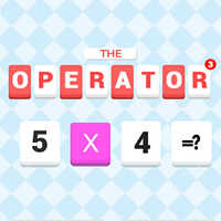 The Operators 3,The Operators 3 is one of the math games that you can play on UGameZone.com for free. Which is the true number? The Game is applied to the law of addition, subtraction, multiplication, and division, by setting the number of computing meet the specified requirements and challenges. Tap to choose the true number. Enjoy!