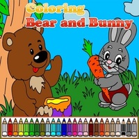 Oyun Trendleri,Coloring Bear and Bunny is one of the Coloring Games that you can play on UGameZone.com for free. Play coloring games, choose colors and design your colorful picture with the funny bear and amazing bunny. Enjoy and have fun!