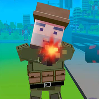 Trendy gier,Pixel Survival is one of the Shooter Games that you can play on UGameZone.com for free. How long will your character survive in this 3D shooter game? Team up with a policeman, a farmer, a businessman, or a sporty girl for a fight to the finish! You'll need to gather weapons and ammo along with useful power-ups like French fries while you battle your enemies.