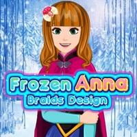 Frozen Anna Braids Design