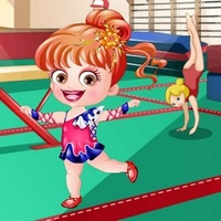 Baby Hazel Gymnast Dress Up