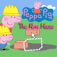 Popolare Giochi,Peppa Pig The New House is one of the Craft Games that you can play on UGameZone.com for free. Help Peppa and George build a new house with Daddy Pig. Pick all the final touches and decorate the house with a colourful selection of shapes and patterns! Enjoy and have fun!