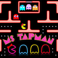 Ms Tapman,Ms Tapman is one of the Pacman Games that you can play on UGameZone.com for free. This sequel to Pac-Man differs from its predecessor on the fact that it has different screens and a female character. It was also one of the more successful of early arcade games as its sales record is still unmatched.