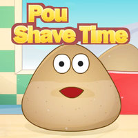 Games Trends,Pou Shave Time is one of the Barber Shop Games that you can play on UGameZone.com for free. Hey, It's Pou's shave time! Let's help him! Oh, Pou has to shave today, he will join an important meeting. Can you help him shave using the tools given to you? He will be glad if you can do this! Enjoy your time with pou!