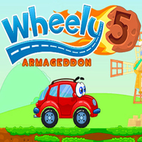 Xu hướng trò chơi,Wheely 5 is one of the Wheely Games that you can play on UGameZone.com for free.  The world of Wheely is in danger! A meteor hit the Earth. Help Wheely find his way through all the levels of Wheely 5 Armageddon. Solve puzzles, find all objects and get away from all the danger.