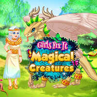 Girls Fix It Magical Creatures,Girls Fix It Magical Creatures is an online girl game that you can play on UGameZone.com for free. In the game, you need to take care of a magical dragon. First, you should clean it and dress its wounds. Then, you can feed it fruits and cure it with the magic potion. Finally, you can dress up yourself and the magical dragon. Have fun!