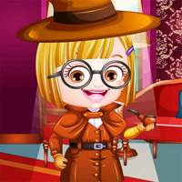Baby Hazel Detective Dress Up