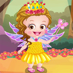 Baby Hazel Flower Princess Dress Up