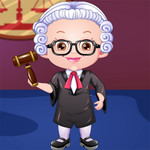 Baby Hazel Lawyer Dress Up