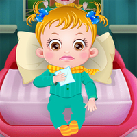 Best New Games,You can play Baby Hazel Goes Sick on UGameZone.com for free.  Today, Baby Hazel got sick. She has a bit of a cough. Pay attention to her when she wakes up. Give her your warmest hug and sweet little kisses! Look into her face, how much she needs your care and attention. Enjoy and have fun!