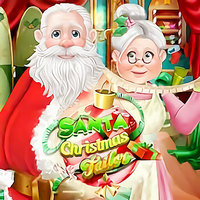 Beliebte Spiele,Santa Christmas Tailor is one of the Christmas Games that you can play on UGameZone.com for free. Christmas is near and Mrs.Claus needs to get her studio ready for a new jolly season because everything's a mess from last year, will you be her helper? Find the important objects to fix the room before time runs out, so you can tailor Santa's suit. Get the right measurements, make sure there's enough fur to keep him warm and Santa will be all dressed up for the big evening.