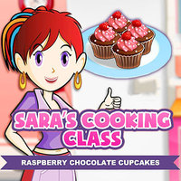 Free Online Games, Sara's Cooking Class: Raspberry Chocolate Cupcakes is one of the Cooking Games that you can play on UGameZone.com for free. You are going to the cooking class where the mentor is Sara. Sara is a very good chef and the best thing about her is that she makes complicated recipes seem so easy. You will have to follow her instructions and use the ingredients in the correct way to carry out the cooking task to Make Raspberry Chocolate Cupcakes. Sara's baking up a batch of these wonderful cupcakes. She'll teach you how to make them too.