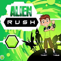 Ben 10 Alien Rush,Ben 10 Alien Rush is one of the Shooting Games that you can play on UGameZone.com for free. Planet Earth is being overrun by intergalactic monsters and only Ben with the help of his alien companions can stop them. With the help of Ben 10's Omnitrix transform into Heatblast, Stinkfly, and Overflow and blast the monsters into outer space! Enjoy and have fun!